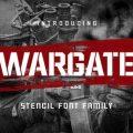 Wargate font free download