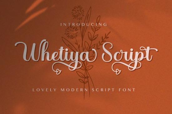 Whetiya font download