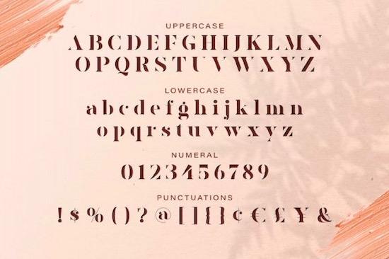 AVONE font