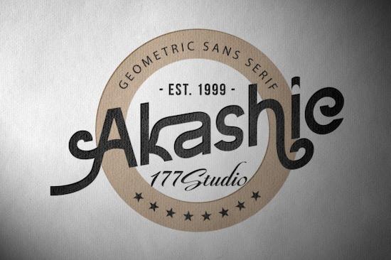 Akashic font free download