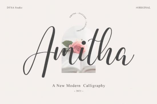 Amitha font free download