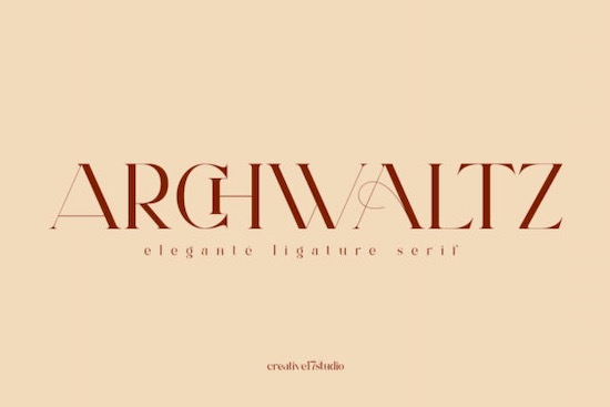 Archwaltz font free download