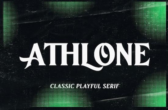 Athlone font free download
