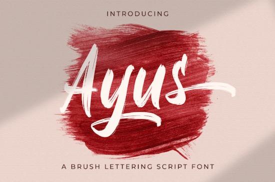 Ayus font free download