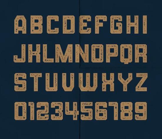 BALLOCS font free