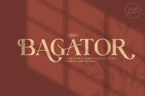 Bagator font free download