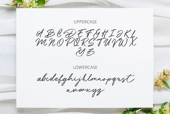 Battossa font download