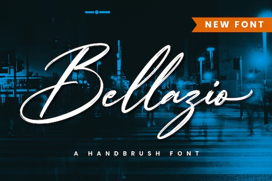 Bellazio font free download