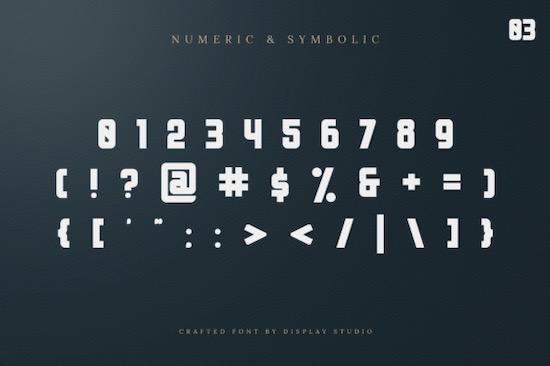 Bellyn font