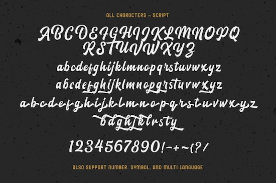 Blacklite font free