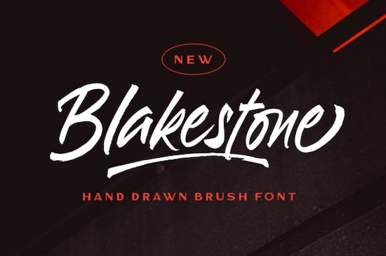 Blakestone Font free download