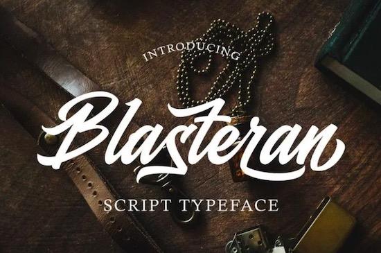 Blasteran font download