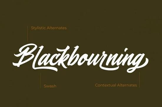 Blasteran font