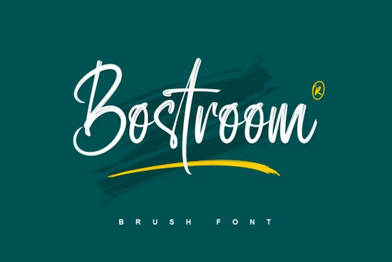 Bostroom font free download