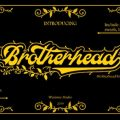 Brotherhead font free download