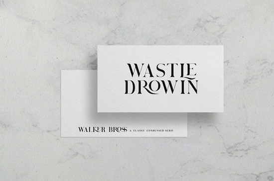 Brovile font download