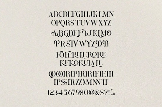 Brovile font free