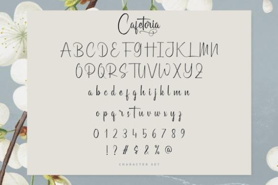 Cafetoria font download