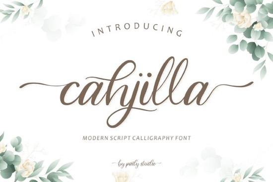 Cahjilla font free download