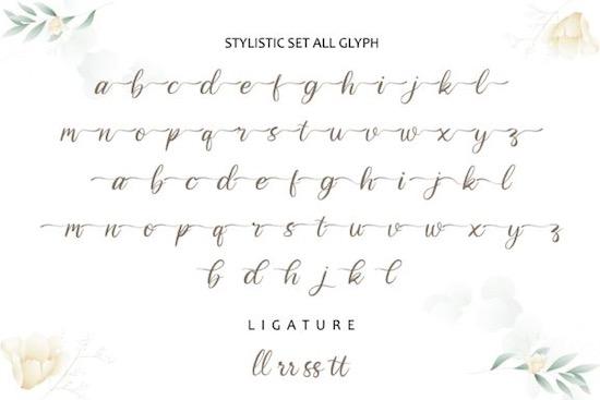 Cahjilla font free