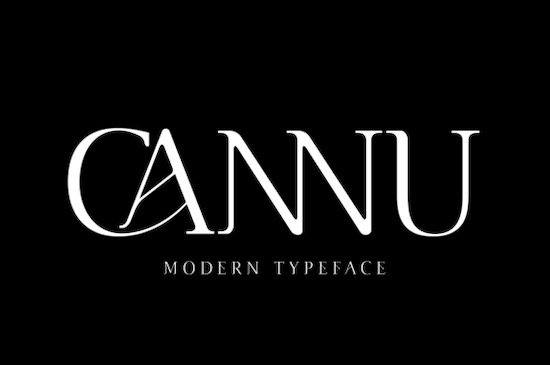 Cannu font free download