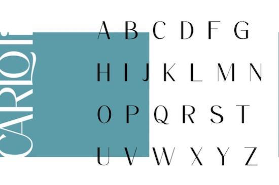 Carloti font