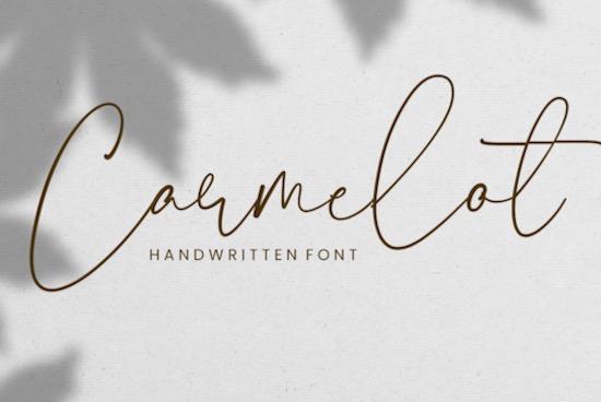 Carmelot font free download
