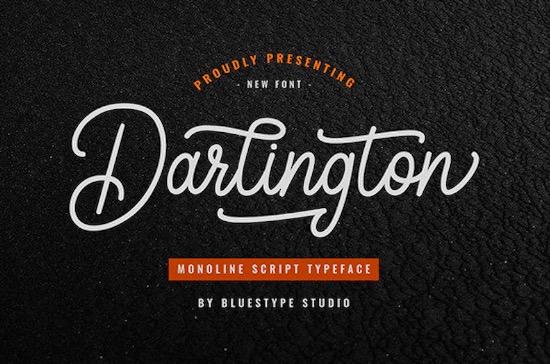 Darlington font free download