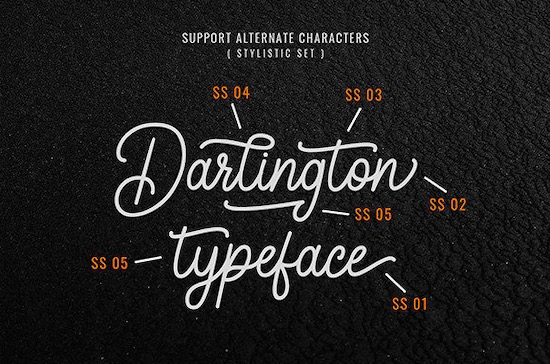 Darlington font free