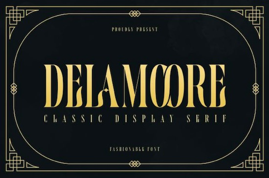 Delamoore font free download