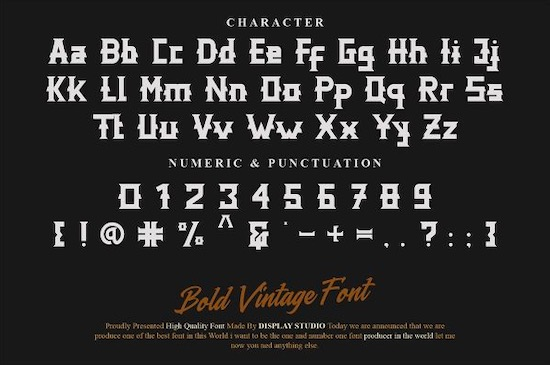 Distric of Barthon font download