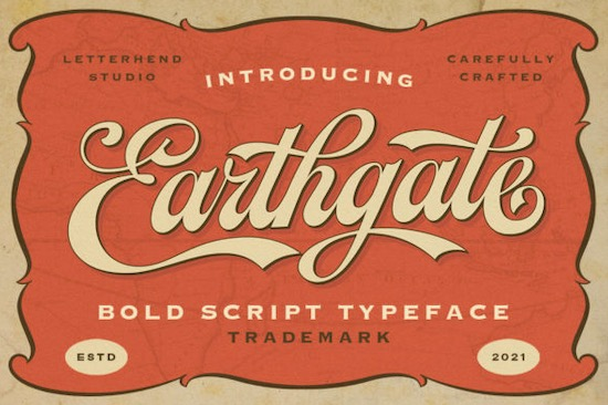 Earthgate font free download