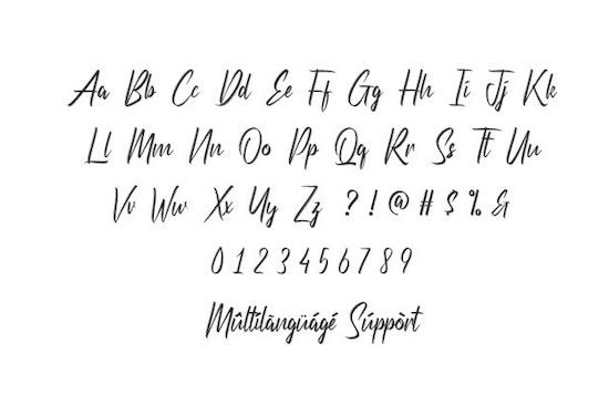 Etherish font free