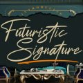 Futuristic Signature font free download