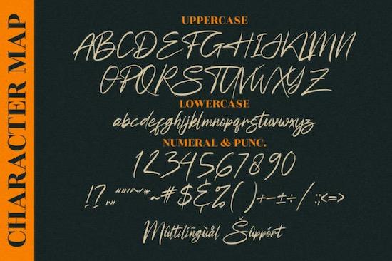Futuristic Signature font free