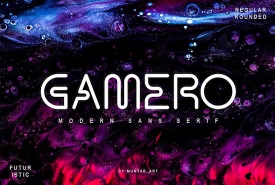 Gamero font free download