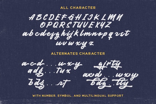 Garnite font free