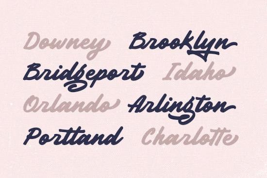 Garnite font