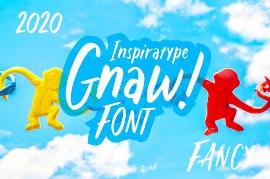 Gnaw font free downlaod