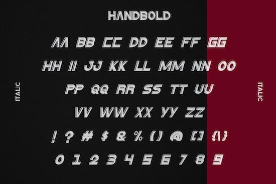 HanBold font download
