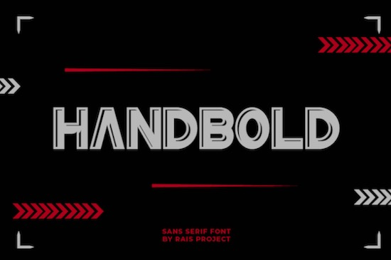 HanBold font