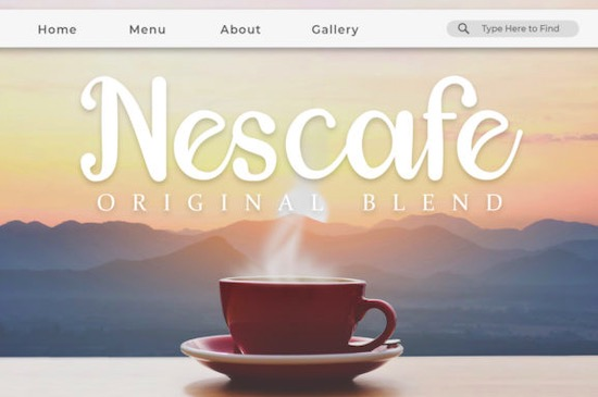 Hazelnuts font download