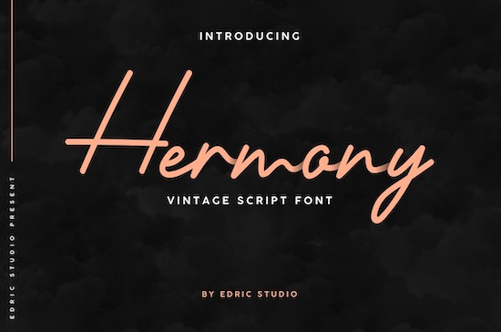 Hermony font free download