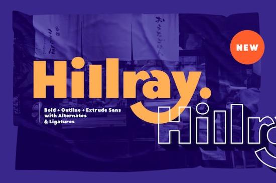 Hillray font free download
