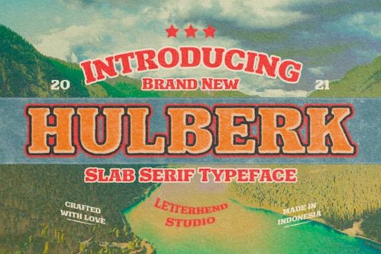 Hulberk font free download