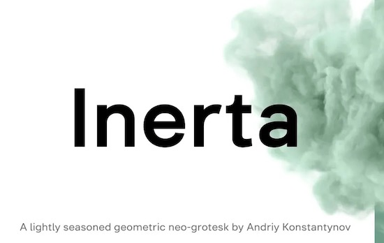 Inerta font download