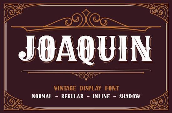JOAQUIN font free download