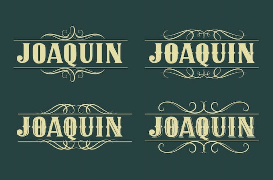 JOAQUIN font free