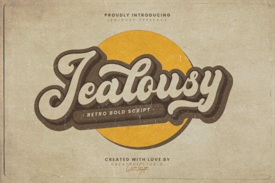 Jealousy font free download