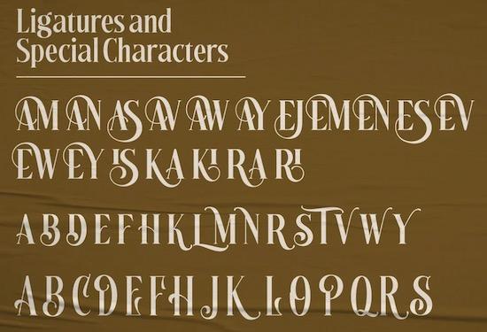 Kentish font free